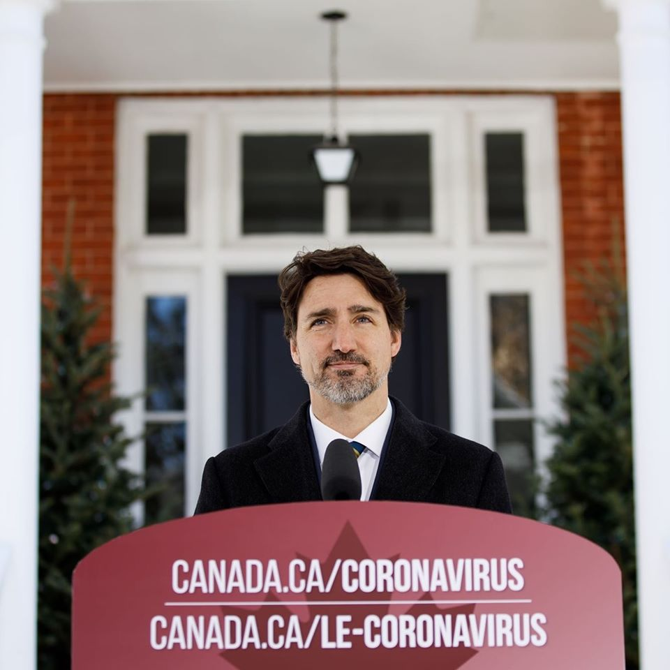 PM JUSTIN TRUDEAU ANNOUNCED PRODUCTION OF MORE MEDICAL SUPPLIES AND EQUIPMENT IN FIGHT OF COVID-19